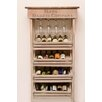 <strong>Napa East Collection</strong> Vineyard 24 Bottle Wine Rack and Cabinet