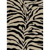 Ottomanson Royal Animal Print Zebra Rug