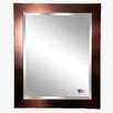 Rayne Mirrors Jovie Jane Shiny Bronze Petite Wall Mirror