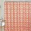 Jill Rosenwald Home Newport Gate Cotton Flamingo Shower Curtain