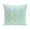 E By Design Geometric Cotton Decorative Pillow