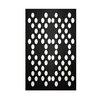 E By Design Decorative Polka Dot Black/White Area Rug
