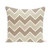 E By Design Stripe a Balance Chervon Decorative Pillow