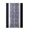 E By Design Decorative Stripe Navy Blue/Blue Area Rug
