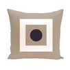 E By Design Coastal Calm Geometric Decorative Pillow