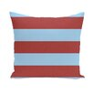 E By Design Coastal Calm Stripe Decorative Pillow