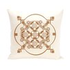 E By Design Moroccan Medley Geometric Decorative Pillow