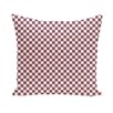 E By Design Flower Power Geometric Decorative Pillow
