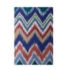 E By Design Decorative Chevron Brown/Rust Area Rug