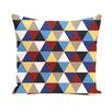 E By Design Subline Geometric Decorative Pillow
