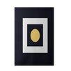 E By Design Decorative Geometric Black Area Rug