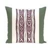 E By Design I-Kat U-Dog Stripe Decorative Pillow