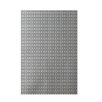E By Design Decorative Geometric Off White/Gray Area Rug