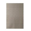 E By Design Decorative Geometric Beige Area Rug