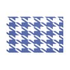 E By Design Houndstooth Geometric Print Polyester Fleece Throw Blanket