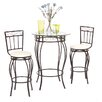 TMS Gabriella 3 Piece Pub Table Set