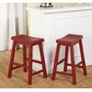 """<strong>Belfast 24"""" Bar Stool (Set of 2)</strong> by TMS"""