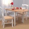 <strong>Tiffany 3 Piece Dining Set</strong> by TMS