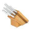 <strong>Rada Cutlery</strong> 6 Piece Creative Cuts Oak Block with Knife Set