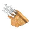 Rada Cutlery 6 Piece Creative Cuts Oak Block with Knife Set