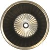 Linkasink Bronze Round Flat Bottom Fluted Bathroom Sink
