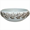 Linkasink Metal Leaves Vessel Bathroom Sink