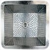 """Linkasink 16"""" x 16"""" Stainless Steel Mosaic Small Square Sink"""