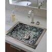 Linkasink Rectangular Crescent Mosaic Bathroom Sink