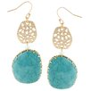 <strong>KC Signatures</strong> Filigree Drop Earrings