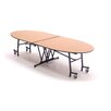 """AmTab Manufacturing Corporation 121"""" x 46"""" Empire Classroom Table"""