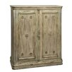 <strong>Reual James</strong> Et Cetera Painted Door Cabinet