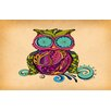 Thumbprintz Owl Branch Gregir Area Rug