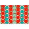 Thumbprintz Stripe Mint Rug
