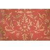 Thumbprintz Golden Baroque Red Rug