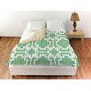 Thumbprintz Modern Geometric Mint Duvet Cover