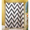 Thumbprintz Zig Zag Shower Curtain