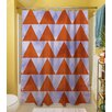 <strong>Triangles Shower Curtain</strong> by Thumbprintz