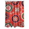 <strong>Thumbprintz</strong> Bird Berries Susani Shower Curtain