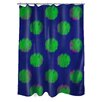 <strong>Thumbprintz</strong> Big Dots Shower Curtain