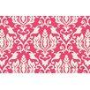 Thumbprintz Francie Damask Pink Area Rug