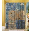 Thumbprintz Moroccan Patchwork Shower Curtain