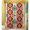 Thumbprintz Ikat Shower Curtain