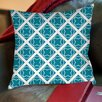 Thumbprintz Modern Geometric Topaz Printed Pillow