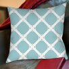 Thumbprintz Modern Geometric Robin Egg Printed Pillow