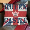 Thumbprintz My Queen Castle Sue Schlabach Wild Apple Printed Pillow
