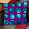 Thumbprintz Fuzzy Dots Printed Pillow