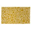 Thumbprintz Ambrose Bird Yellow Area Rug