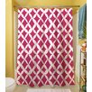 Thumbprintz Banias Diamond Polyester Shower Curtain