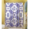 Thumbprintz Chinoiserie Swatch 1 Polyester Shower Curtain