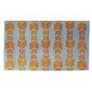 Thumbprintz Featherwood Orange/Blue Area Rug